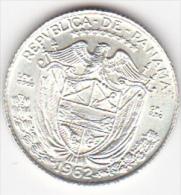 PANAMA . 1/10 BALBOA 1962 . ARGENT .SUP/XF - Panamá