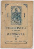Het Heiligdom Van O.L.V. Te Tongeren - Getekende Afbeeldingen Van De Schatten - Libros, Revistas, Cómics
