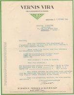 69 DECINES COURRIER 1933 VERNIS VIRA    *  S5 - France
