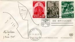 1960 VATICAN, 3 Sondermarken Mit Sonderstempel - Vatikan