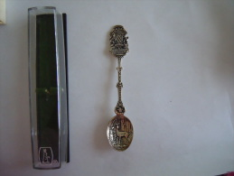 Herbeumont S/Semois Les Fourches Vintage Souvenir Lepel Petite Cuilllère Little Spoon  (ref 26) - Spoons