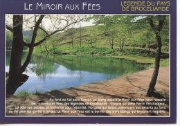 Pays De Brocéliande : Le Miroir Aux Fées - Légende  N° 3459 Jack - Francia