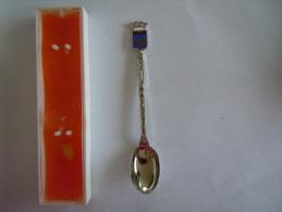 PAIMPOL Armoiries Vintage Souvenir Lepel Petite Cuilllère Little Spoon  (ref 27) - Cuillers