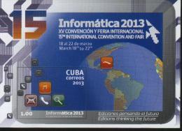 CUBA 2013  MNH Computer Souvenir Sheet - Cuba