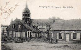 80 Monchy Lagache, Place De L´eglise Avant La Guerre - France