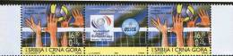 Serbia And Montenegro (Yugoslavia), 2005, European Volleyball Championship Belgrade-Rome 2005, Stamp-vignette-stamp, MNH - Yougoslavie