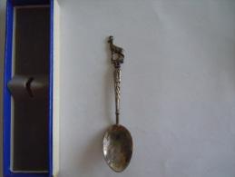 BOURG ST MAURICE Vintage Souvenir Lepel Petite Cuilllère Little Spoon  (ref 33) - Cuillers