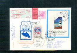 Jugoslawien / Yugoslavia / Yougoslavie 1987 Brief Mit Zuschlagmarke / Letter With Tax Stamp - 1945-1992 République Fédérative Populaire De Yougoslavie