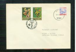 Jugoslawien / Yugoslavia / Yougoslavie 1990 Brief Mit Zuschlagmarke / Letter With Tax Stamp - Covers & Documents