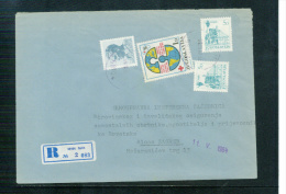 Jugoslawien / Yugoslavia / Yougoslavie 1984 Brief Mit Zuschlagmarke / Letter With Tax Stamp - Covers & Documents