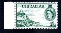 6145x)  Gibraltar 1954  ~ SG # 146a  Mnh**~ Offers Welcome! - Gibraltar