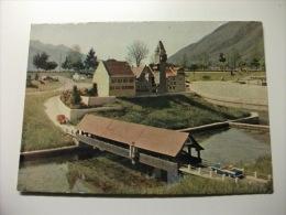 Car Auto  Ponte Swissminiatur Lugano Melide Bremgarten Argovie  Svizzera - Voitures De Tourisme