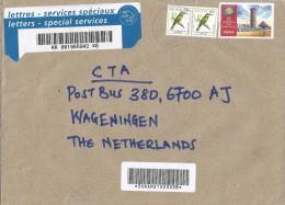 Kenya 2010 Lavington Bee-eater Bird UPU Postal Conference Barcoded Registered Cover - Kenia (1963-...)