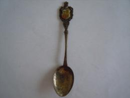 ESPANA Armoiries Emaille Abimé Vintage Souvenir Lepel Petite Cuilllère Little Spoon  (ref 39) - Cuillers
