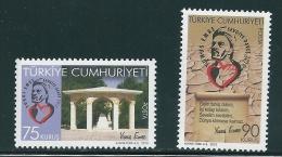 Turkey 2010 The Poet Yunus Emre Set MNH T0387 - Nuevos