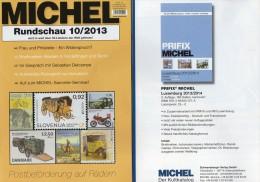 Briefmarken Rundschau MICHEL 10/2013 Neu 5€ New Stamp Of The World Catalogue And Magacine Of Germany ISBN4 194371 105009 - Tedesco