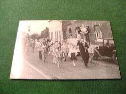 BC5-4-250-2 CPM Marche Lez Ecaussinnes Club Des Accordéonnistes Marchois à Courrières Lez Ville 1950 - Ecaussinnes