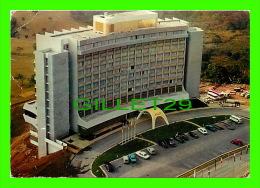 YAOUNDÉ, CAMEROUN - LE MONT FÉBÉ PALACE - PHOTO, B. NLO'O - CIRCULÉE EN 1971 - - Cameroun
