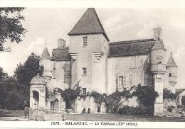 CPA 17 Balanzac - Le Château - France
