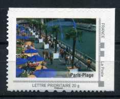 Paris Plage Adhésif Neuf ** . Collector Paris 2009 - France