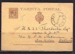 Card 1896 To Den Helder Holanda (s250) - 1850-1931