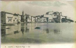 CALVI (Haute-Corse) - Vue De La Plage - Calvi