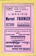 BUVARD : Librairie Marcel FOURNIER  Coiffure Moderne  Rosendael - Papeterie