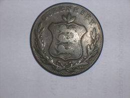 Guernsey 8 Doubles 1834 (5102) - Guernsey