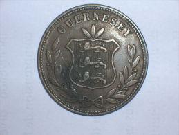 Guernsey 8 Doubles 1864 (5103) - Guernsey
