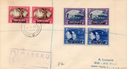 Basutoland Old Registered Cover - Basutoland (1933-1966)