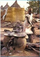 Burkina Faso. Banfora. The Beer Preparation. - Burkina Faso