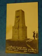 ARDECHE-LE POUZIN-CARTE PHOTO INAUGURATION DU MONUMENT AUX MORTS-ANIMEE 15 JUIN 1924 - Le Pouzin