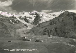 Gressoney La Trinité (Valle D'Aosta), Old Photo Postcard - Unclassified