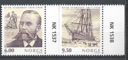Norvège,  2004  N°1445/1446  Neufs**, Explorateur, Navigateur Otto Sverdrup - Unused Stamps