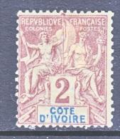 IVORY COAST  2  * - Ivory Coast (1892-1944)