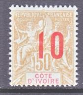 IVORY COAST  40  * - Ivory Coast (1892-1944)