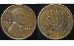 UNITED STATES - USA - ONE CENT 1929 - LINCOLN - Émissions Fédérales