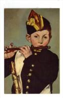 Cp , Arts , Peintures Et  Tableaux , MANET , Le Joueur De Fifre, Vierge , Ed : Draeger - Paintings