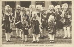 """Binche - Carnaval - Société """" Les Paysans """" - Edit :Daille-Huart ( Voir Verso ) - Binche"""