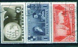 1933 - Chateau Royal De Sinaia  Michel 462/464 Et Yv 465/467 - 1918-1948 Ferdinand, Carol II. & Mihai I.
