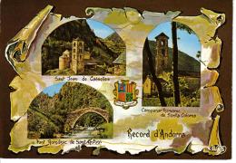 Valls D´Andorra Andorre N°57 L´Art Roman Sant Joan De Casselles Campanar De Santa Coloma - Andorra