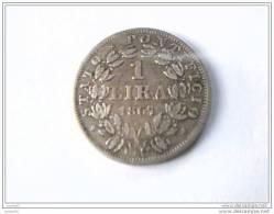 1 LIRA 1867 XXIIR - PIVS IX PON - VATICAN - SUPERBE - - Vatican