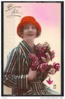 CP  BONNE FETE    1920 -  1930.  NC123 - Non Classificati
