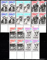 Micronésie 36 + Pa 18 / 21 ( Blocs De 4 ) Ameripex 86 - Micronésie