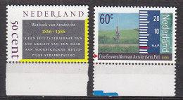 PGL BJ0772 - NEDERLAND PAYS BAS Yv N°1255/56 ** - Unused Stamps