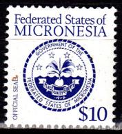 Micronésie 28 Série Courante / Sceau Officiel De La Fédération - Micronésie