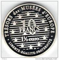 10 FRANCS 1 1/2 Euros  1997 UNC FRANCE.  FEMME PORTANT UNE BOITE .     2 - France