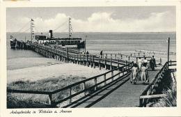 WITTDÜN - 1955 , Anlegebrücke - Unclassified