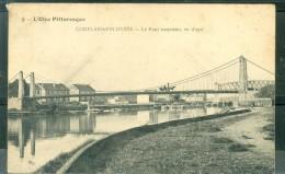 CONFLANS FIN D'OISE - Le Pont Suspendu, Vu D'aval - Abo88 - Conflans Saint Honorine
