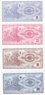 F.Y.R.O.Macedonia 1992 (10-25-50-100 Denar) - Macedonia